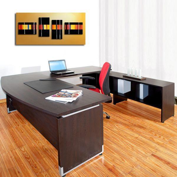 Escritorios zeus a la medida el salvador tecnologia y for Muebles modernos para oficinas pequenas