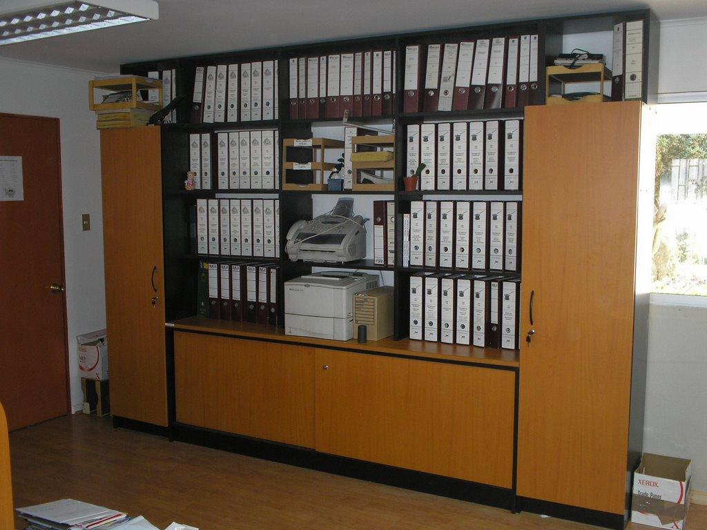 5 libreras de oficina zeus hechos a la medida el for Medidas de muebles para oficina