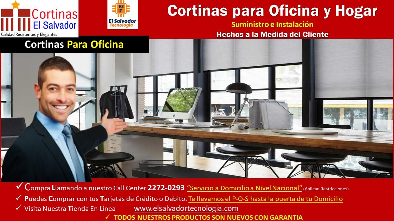Cortinas el salvador el salvador tecnologia y muebles de - Cortinas para oficinas ...