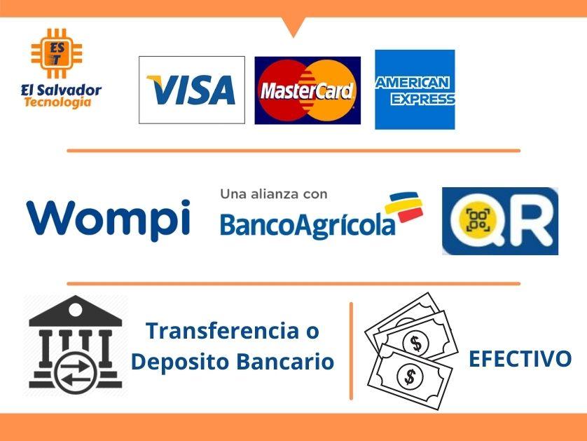 Formas de pago El Salvador Tecnologia